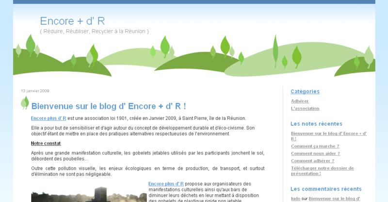 Encore + d' R